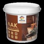 Лак для бань и саун <strong>ORGANA Sauna Varnish</strong> - акриловый защитно-декоративный лак для деревянных поверхностей в банях и саунах.